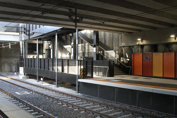 Lifts and stairs form the northern entrance to Ormond station
