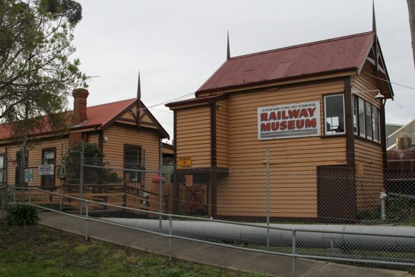 Entrance to the railway museum from Champion Road