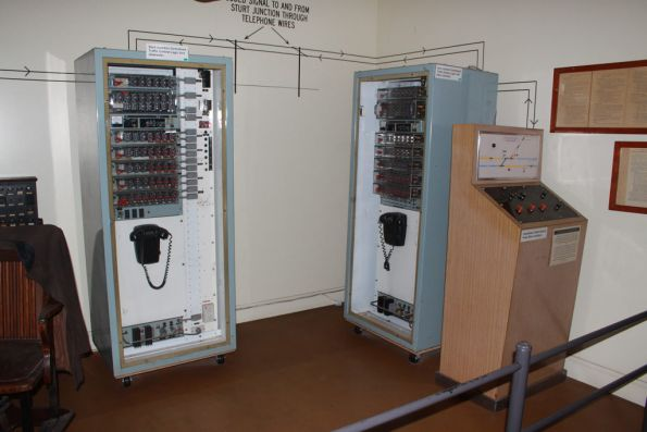 Centralised Traffic Control logic units from Sturt Junction (aka Tonsley Junction), plus the local control panel