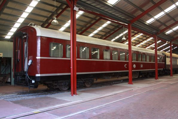 Commonwealth Railways lounge car AFA 93