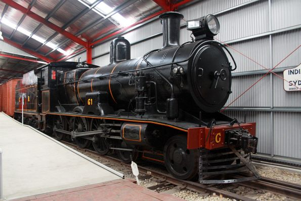 Commonwealth Railways standard gauge steam loco G1