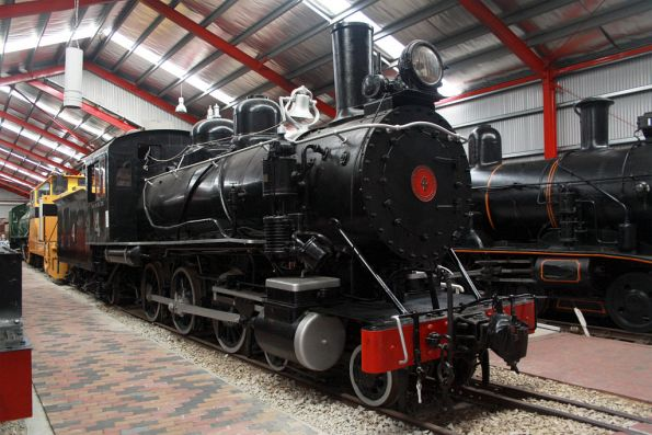BHP narrow gauge steam loco 4