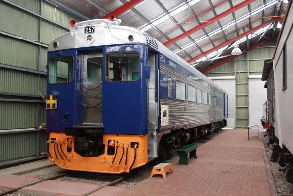 SAR Bluebird railcar 257