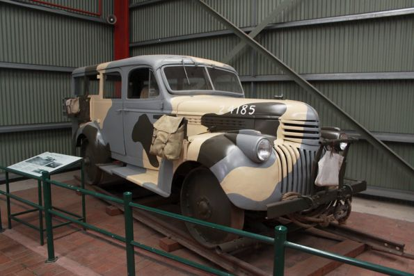 Commonwealth Railways 'Motorised Inspection Car' #4