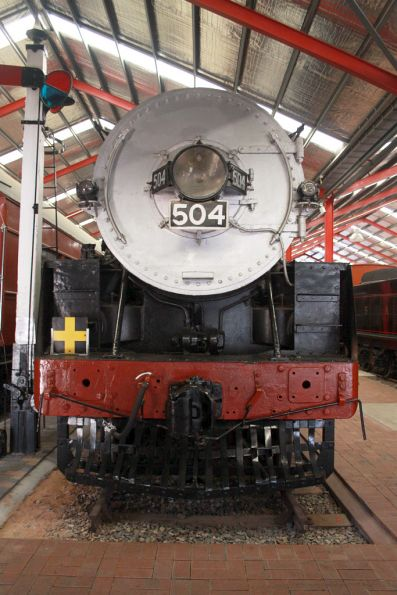SAR broad gauge steam loco 504