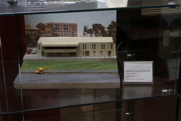 N scale model of the TransAdelaide control centre