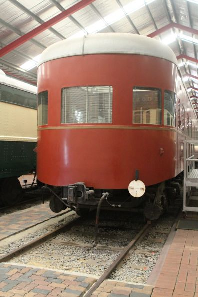 Rounded end of SAR Vice Regal Car
