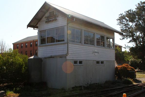 Woodville signal box relocated to the museum