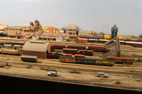 HO scale model railway at the museum