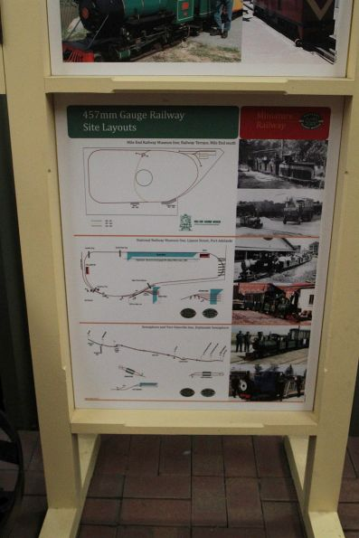 History of the 457mm gauge miniature railways at the NRM