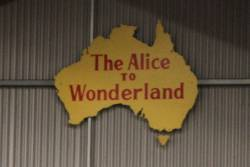 'The Alice to Wonderland' headboard