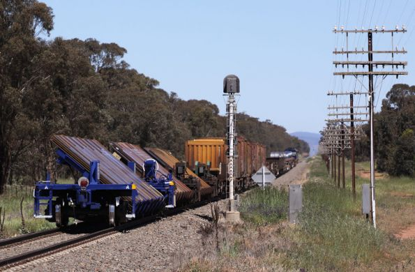 Tilt sheet steel wagons at the tail end