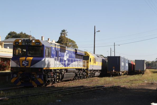CM3312, RL310 and 1103 ready to depart Junee