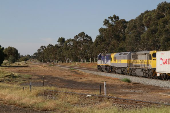 CM3312, RL310 and 1103 depart Junee