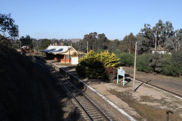 Disused railway station at Binalong