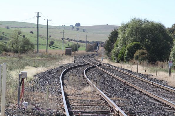 Up end of the siding at Blayney