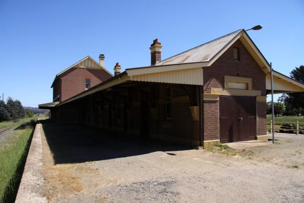 Single storey section of Cootamundra West station