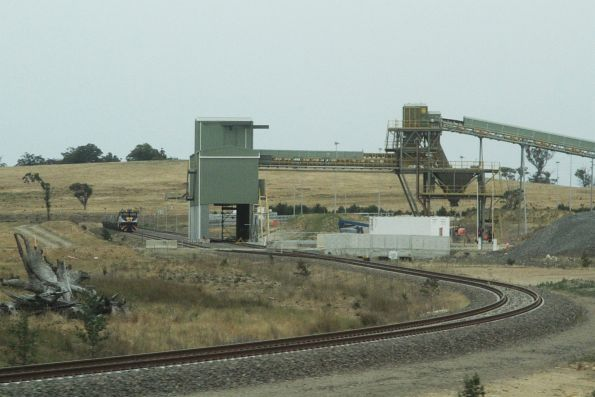 Private siding for Holcim's new Lynwood quarry outside Marulan