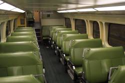 Lower deck seating onboard a V set