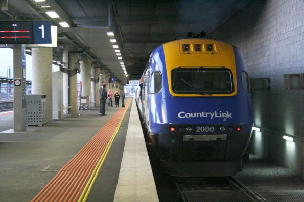The 'worm' departs the 'wormhole' at Southern Cross