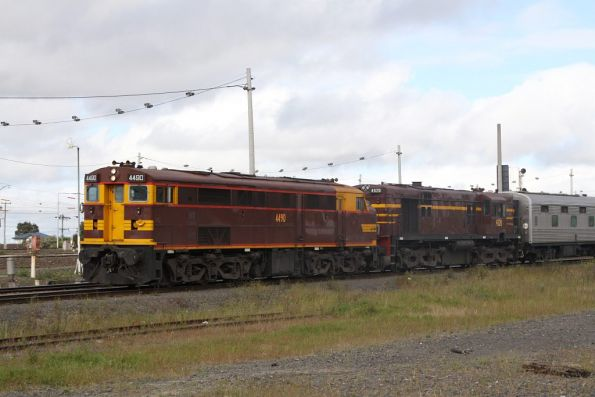 NSW Rail Transport Museum: Melbourne Cup Aurora 2011