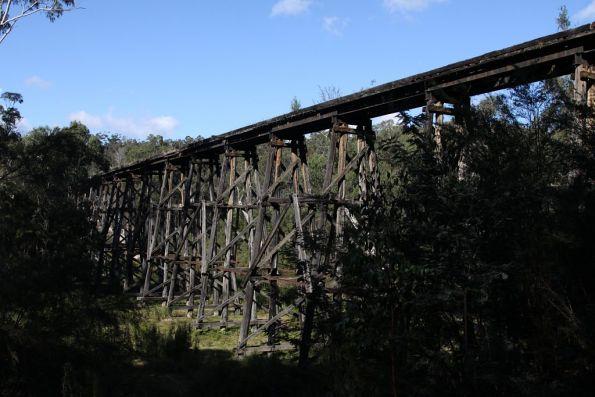 Stony Creek trestle bridge, outside Nowa Nowa