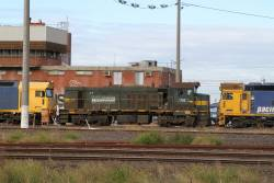 P20 spared from scrap row, headed to Newport Workshops to be stripped