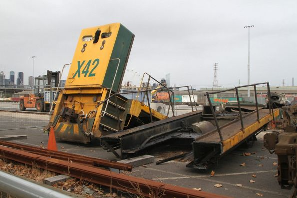 Pacific National A and X class locomotive scrapping