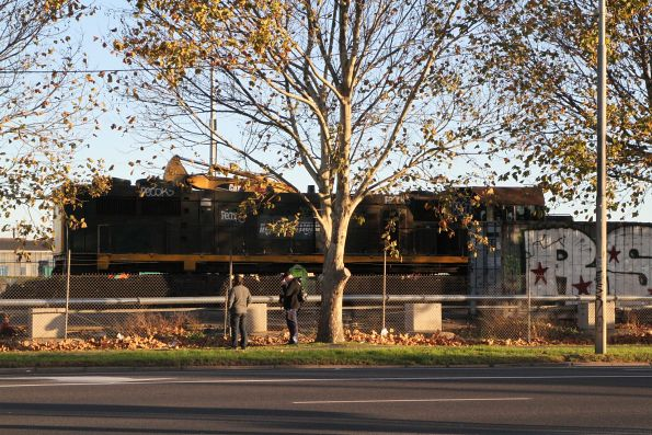 X44 ready to be scrapped at South Dynon