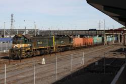 X37 with X43 still waiting at Melbourne Yard