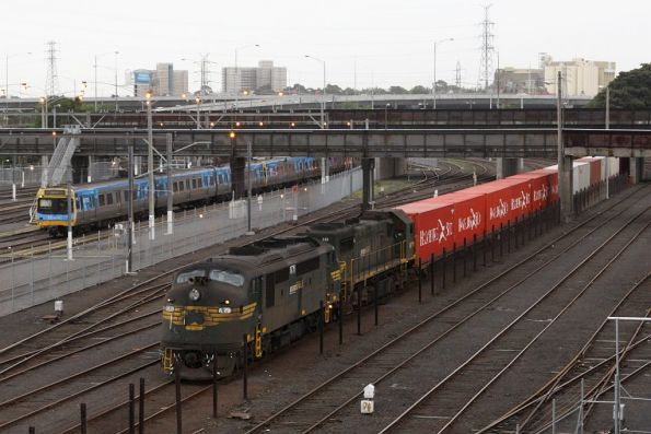 A79 and X49 at Melbourne Yard arrivals, waiting out morning peak before heading for Maryvale