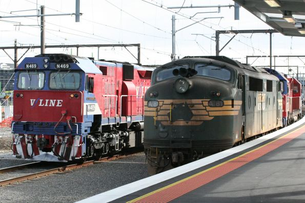 N469 passes A81 and N452 at Southern Cross