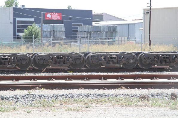 Spare bogies from beneath WGSY grain wagons