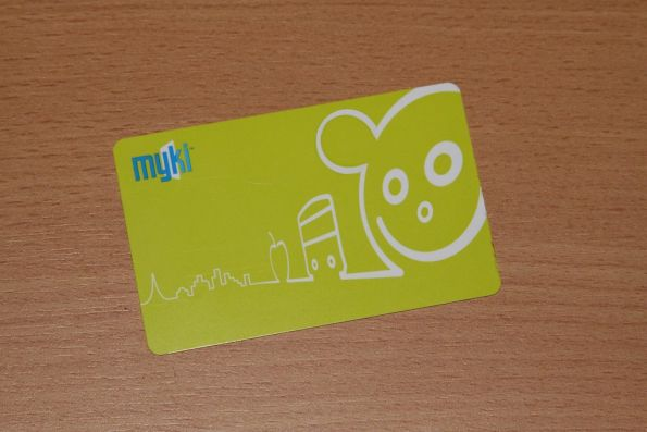 Someone at Myki taking the Mickey Mouse