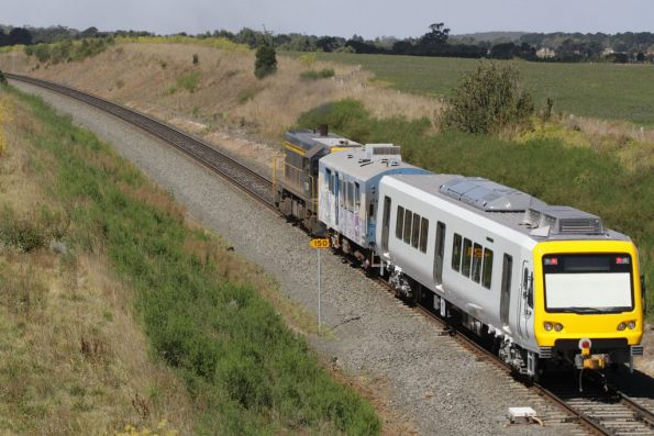 [FAKE] Double-ended X'Trapolis on transfer from Alstom Ballarat to Melbourne