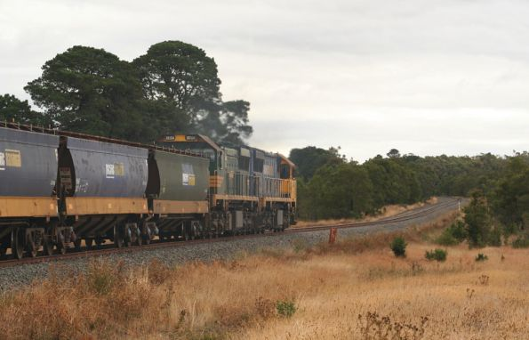 XR557 and XR554 head for Elaine
