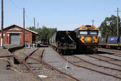 BL32 stabled at Maryborough