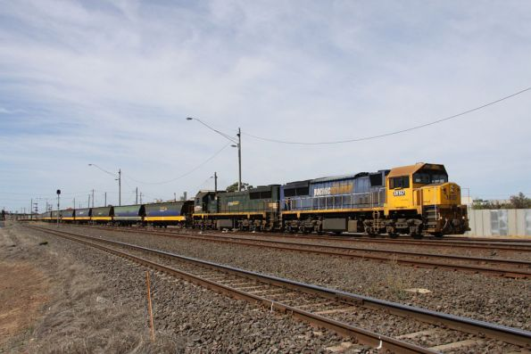 Departure from North Geelong C