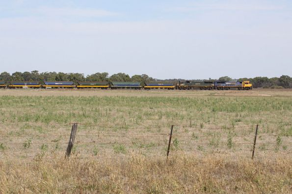 Paralleling the Midland Highway