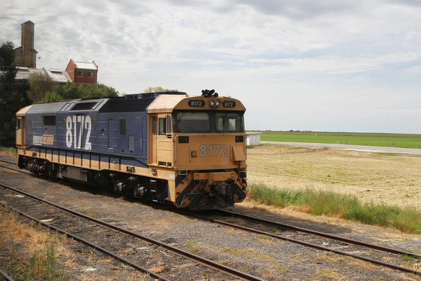 8172 stabled at Murtoa between grain runs