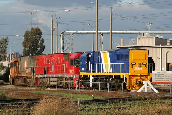 XRB561 with NR75 and NR?? at the PN provisioning centre