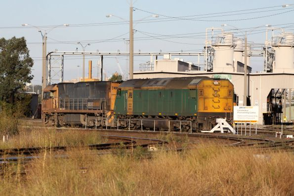 Tail end of AN11, NR44 coupled up at the other end, outside the PN provisioning centre