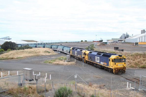 Pacific National standard gauge grain trains