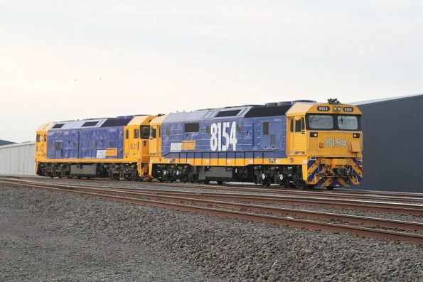 8154 and BL31 run around their train at North Geelong C