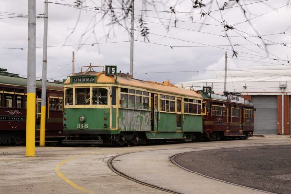SW5.848 with a few decrepit ex-City Circle trams