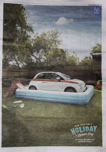 'Give your car a holiday this Labour Day'