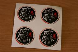 Metro stickers for '2014 Year of the Horse'