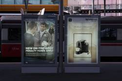 More PTV advertising at Southern Cross Station for the new on-the-spot 'Penalty Fares' regime