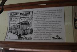 1980s advertisement from The Met for the North Williamstown Railway Museum