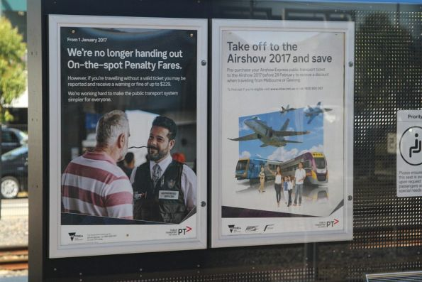 Combined Airshow 2017 entry and V/Line travel promotion by PTV